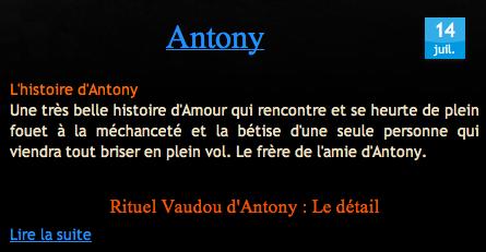 Témoignage Antony Sur Nathaniel Sorcier Vaudou Haïtien