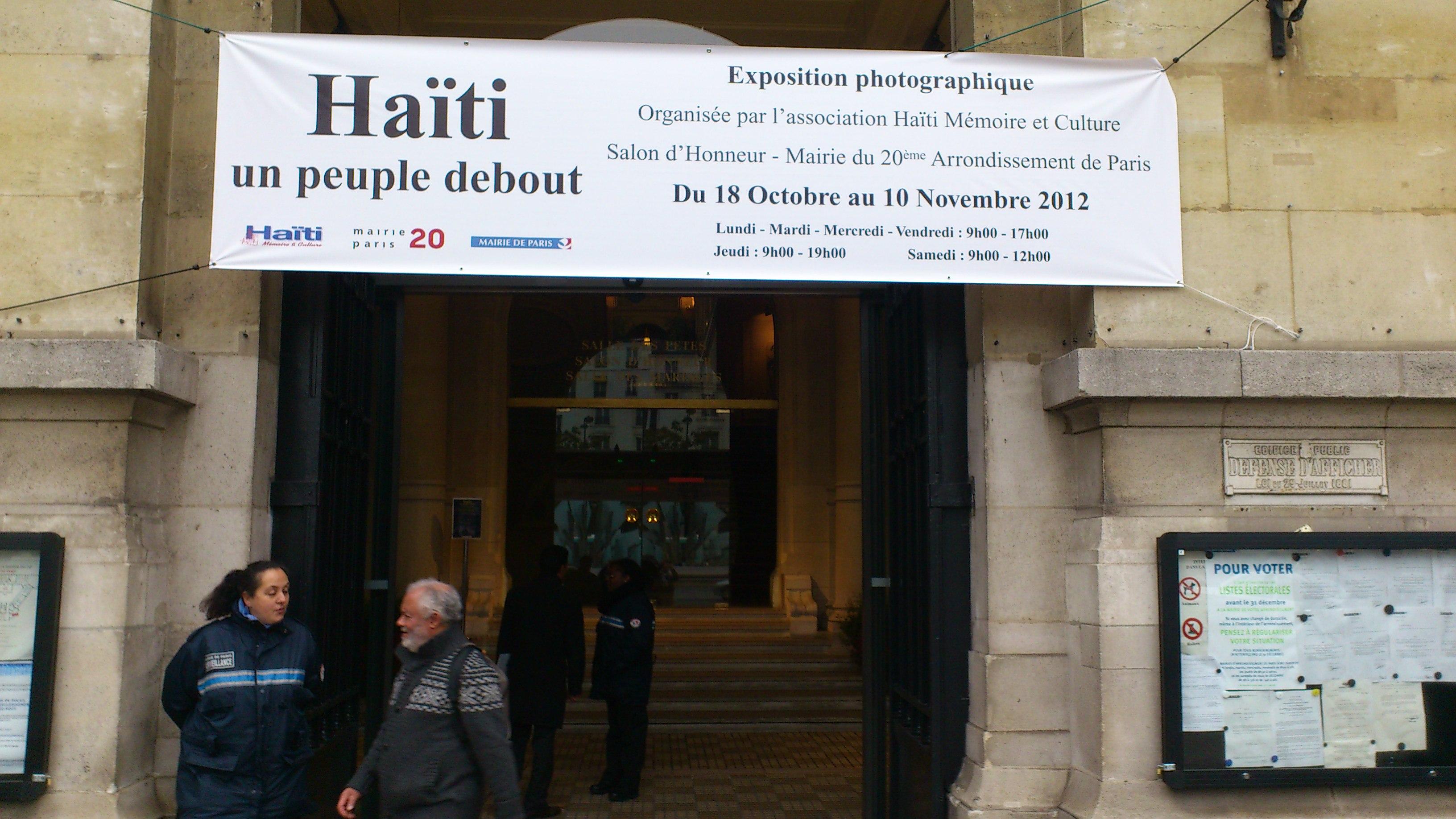Haiti un peuple debout