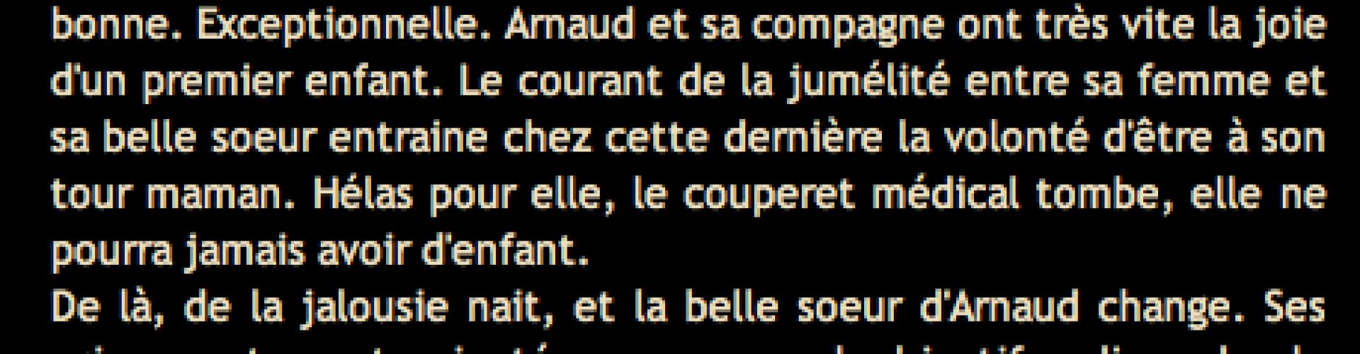 Cliquez et Découvrez le Témoignage d'Arnaud